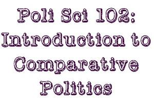 Poli Sci 102