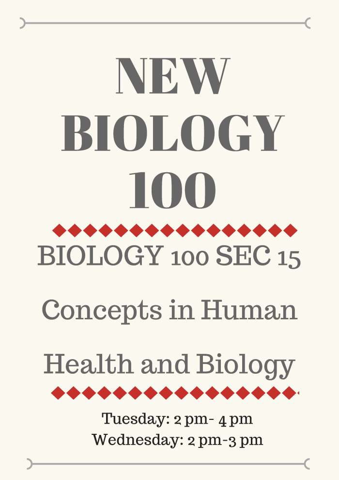 Biology 100 (2)
