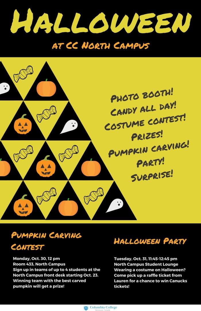 Halloween NC poster 11x17