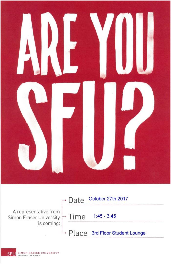 SFU Visit Poster (3)