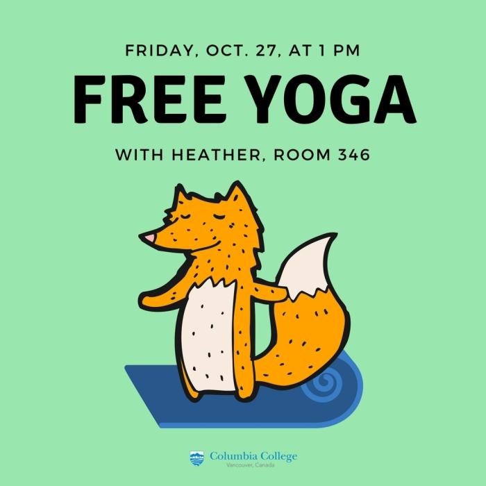 Yoga poster Instagram