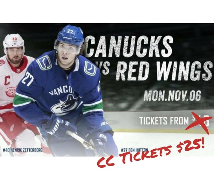 Canucks tickets