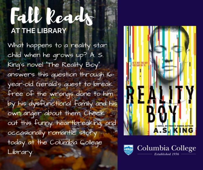 Fall Reads_Reality Boy