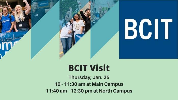 BCIT Visit