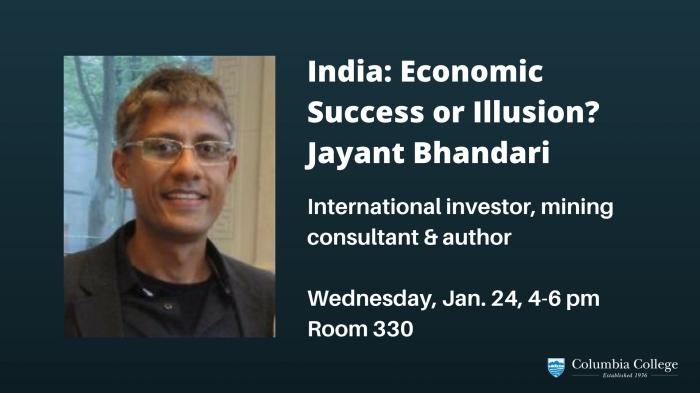 India_ Economic Success or Illusion_Jayant Bhandari