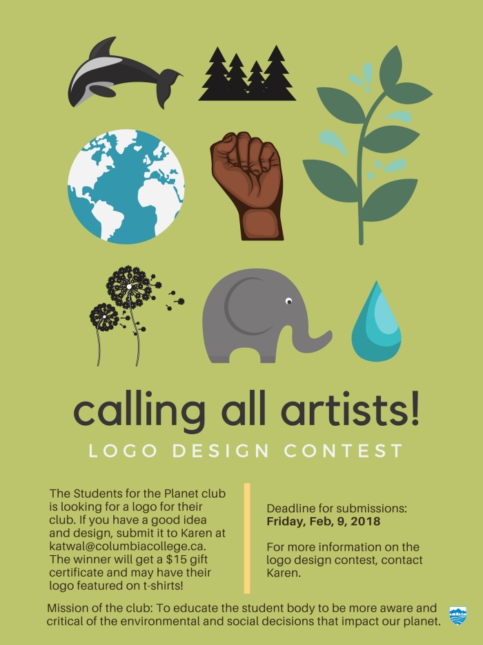Logo competition Poster (Karen's club)