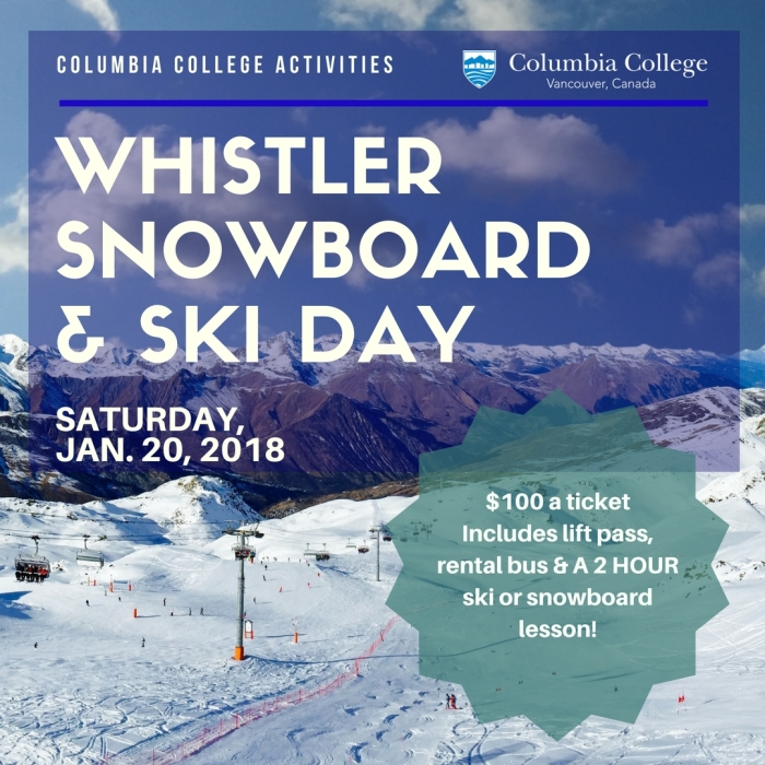 Whister Trips Jan 2018