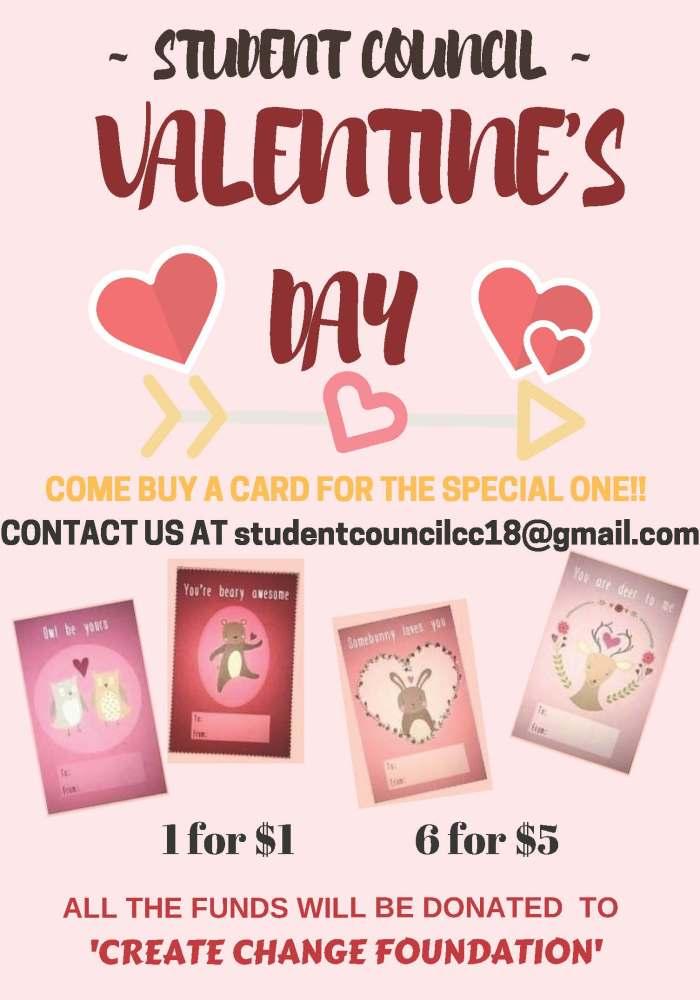 VALENTINE'S DAY CARDS UPDATE